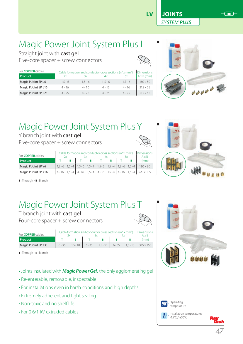 System Plus Joints